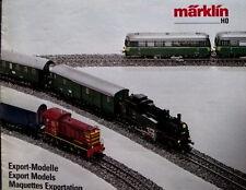 Catalogo Marklin Export Models 1986/87  H0 - DEU ENG FRA - Tr.10