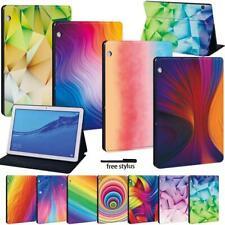 Funda Protectora de Cuero tipo Folio Tablet-Fit Huawei MediaPad T3 8.0/T3 10/T5 10 Tablet