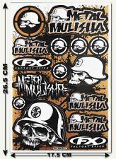 Metal Mulisha Stickers Decals Motorcycle Bike Truck Bumper MX Supercross MTB T18