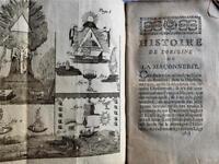 1778 FRENCH BOOK HIGH GRADE FREEMASONRY ILLUMINATI SECRET SOCIETY FRANCE
