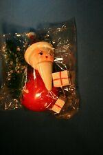 Kathe Wohlfahrt SANTA Christmas Tree Ornament Wooden Germany NEW #1