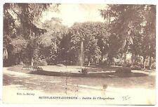 CPA 21 - NUITS SAINT GEORGES (Côte d'Or) - Jardin de l'Arquebuse