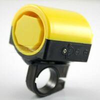 Fahrradhupe/Mini Fahrrad-Hupe 90dB gelb Kunststoff