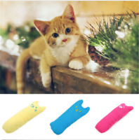 Cute Cat Pillow For Pets Toy Teeth Grinding Fancy Catnip Interactive Claws Toys