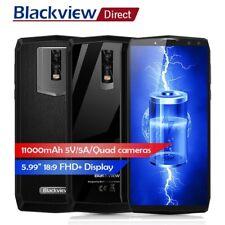 "6.0"" Blackview P10000 Pro FACE ID 4G Smartphone 4GB/64GB 4-SONY Cam 11000mA OTG"