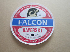 Falcon Bayerskt (Style 1) Small Plastic Round T Bar Pump Badge