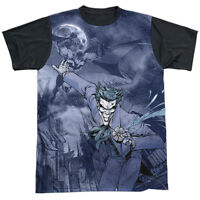 BATMAN CATCH THE JOKER Licensed Adult Men's Graphic DC Comics Tee Shirt SM-3XL