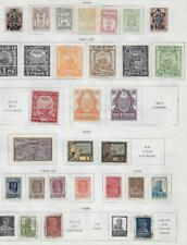 27 Russia Stamps from Quality Old Album 1919-1923