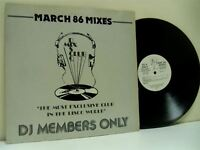 "DMC MARCH 86 - THE MIXES various 12"" EX+/EX DMC 38/2, vinyl, album, 1986"