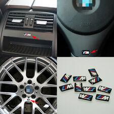 5 Pcs M SPORT 3D WHEEL Badge & Steering Emblem Decal All Series 1 3 5 X5 X6