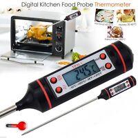 Termometro digital cocina, mide la temperatura de alimentos solidos y liquidos.
