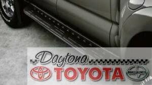 OEM TOYOTA TACOMA BLACK RUNNING BOARDS PT212-35055 FITS 2005-2015 DOUBLE CAB