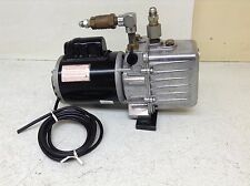 JB Industries DV-85N Platinum Vacuum Pump W/ Emerson 1 Phase C55JXKPK-5060 DV85N