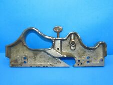 parts - very as-is body for Stanley 444 dovetail wood plane w/patent dates