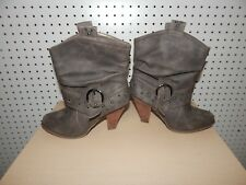 Womens not rated ankle boots - size 7 - German - gray