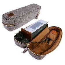 Tuff-Luv Herringbone Tweed case für Bose Sound-Link Mini 1/2 mit NFC-Tag - Braun