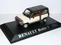 4L9F 1/43 UNIVERSAL HOBBIES M6 RENAULT : renault 4 L RODEO 5 1986