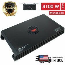 New Gravity Monoblock 4100 WATTS   Class D Car Audio Stereo Amplifier | GR4100