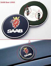 1pc 68mm SAAB Emblem Für Auto Hinte Heckklappe Kofferraum Logo Abzeichen