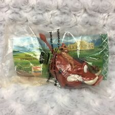 VTG 1994 The Lion King Timon Pumbaa on wheels Collectible Burger King Sealed Toy
