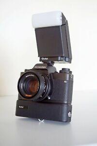 ROLLEIFLEX SL35 E 35mm Film SLR Camera + Planner 50 f1.8 Lens