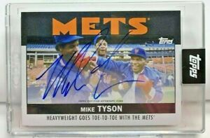Mike Tyson 2021 Topps X ESPN 30 for 30 Once Upon a Time in Queens Autograph Auto