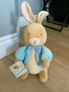 "Peter rabbit 15"" eden plush doll kids rattle toy my first peter rabbit"