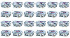 24 x Lock & Lock Plastic Food Container - 180ml Rectangular HPL805