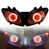 Halo Red Eyes Assembly Projector HID Headlight For Yamaha YZF-R1 2002 2003