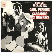 CARL PERKINS / SCREAMIN' JAY HAWKINS - Giants of Rock and Roll - Double LP