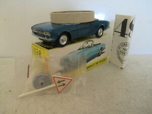 FRENCH DINKY TOYS 1423 PEUGEOT 504 CABRIOLET CONVERTIBLE MIB 9 EN BOITE L@@K