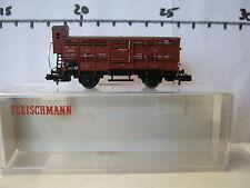 Fleischmann N 8366 Kleinviehwagen 493 Hamburg DRG (RG/RQ/018-9S5/1)