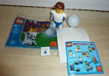 McDonald's LEGO Sports #1 soccer player from 2004, opened/used