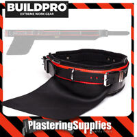 """BuildPro Steelfixers Belt 34"""" Leather Heavy Duty Stitching Back Support LBBSF34"""
