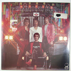 DIAMOND REO Diamond Reo LP 1975 HARD ROCK (STILL SEALED)