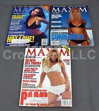 Maxim Mag #18 Caprice #21 Pam Anderson #23 Jennifer Love Hewitt Sex Sports Beer