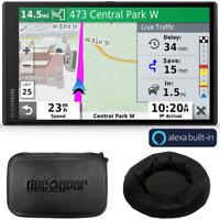 Garmin DriveSmart 65 Premium Navigator with Amazon Alexa Bundle