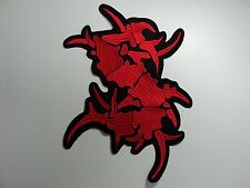 SEPULTURA  EMBROIDERED BACK PATCH