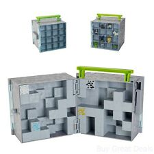 New Minecraft Mini Figure Collector Case Mine Craft Toys Toy Storage Box Figures