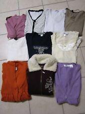 Damen Oberteile, 10 Stück, Bekleidungspaket, Paket, Pulli, Weste, 36/38