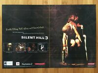 Silent Hill 3 PS2 Playstation 2 2003 2-Page Poster Ad Art Print Survival Horror