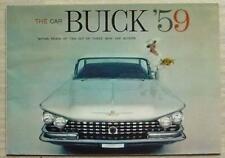 Buick 1959 USA Lesabre INVICTA Electra les ventes automobiles brochure