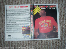 Wrestling Shoot Interview DVD SGT Graig Pittman ECW XPW WWF WWE WCW NWA TNA NJPW