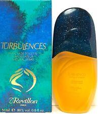 TURBULENCES REVILLON PARFUM DE TOILETTE Spray 1.7 Oz / 50 ml DISCONTINUED ITEM!