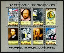 1997 Shakespeare Festival Craiova,Theatre,Othello,Hamlet,Romania,Bl.307,4156,MNH