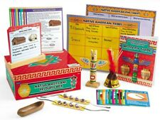 Lakeshore Learning Native American Resource Box Home School Social Studies 1-3