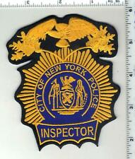 New York City Police Inspector Large Patch  - new for 2020