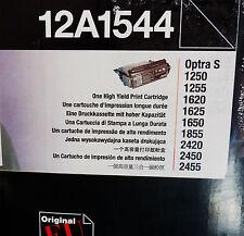 LEXMARK 12a1544 Hi resa Optra S 1250 1255 1620 1625 1650 1855 2420 ORIGINALI