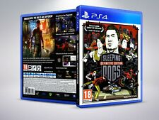 Sleeping Dogs Definitive Edition - PS4 - Replacement Cover / Case (NO Game)