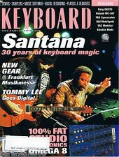 Supernatural 2000 SANTANA, DRM Syncussion Roland MC-307 Keyboard Magazine Review